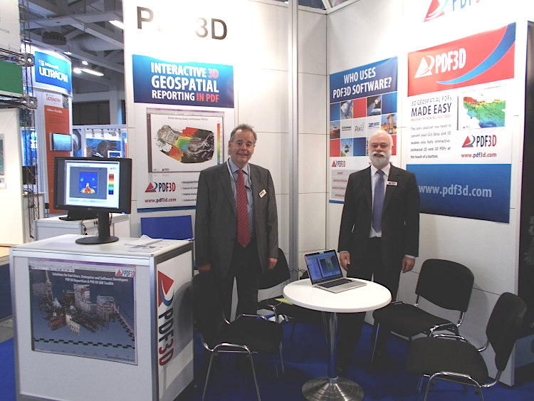 PDF3D at InterGeo