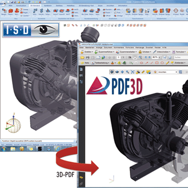 how to open a 3d pdf