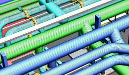 3D PDF Pipe Plant PDF3D