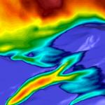 Mt. St. Helens Volcanic Flow Contours PDF3D
