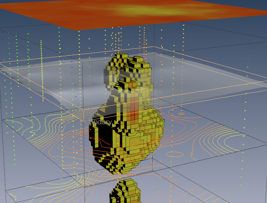 Voxler3 Iridium Geobody PDF3D