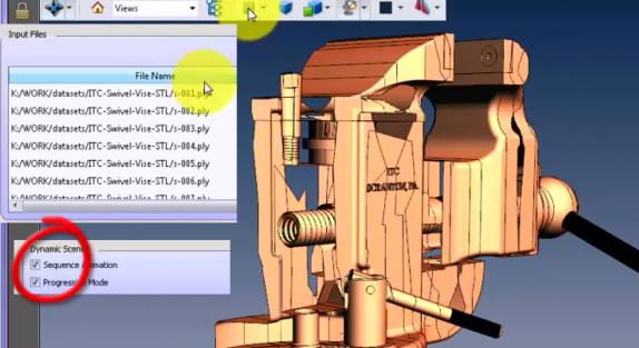 PDF3D Progressive Animation Bench Vice