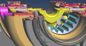 PDF3D STEP Cutaway 3D PDF