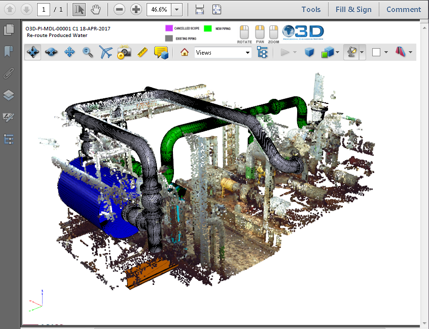 3D PDF Examples from All Industries | Created Using PDF3D