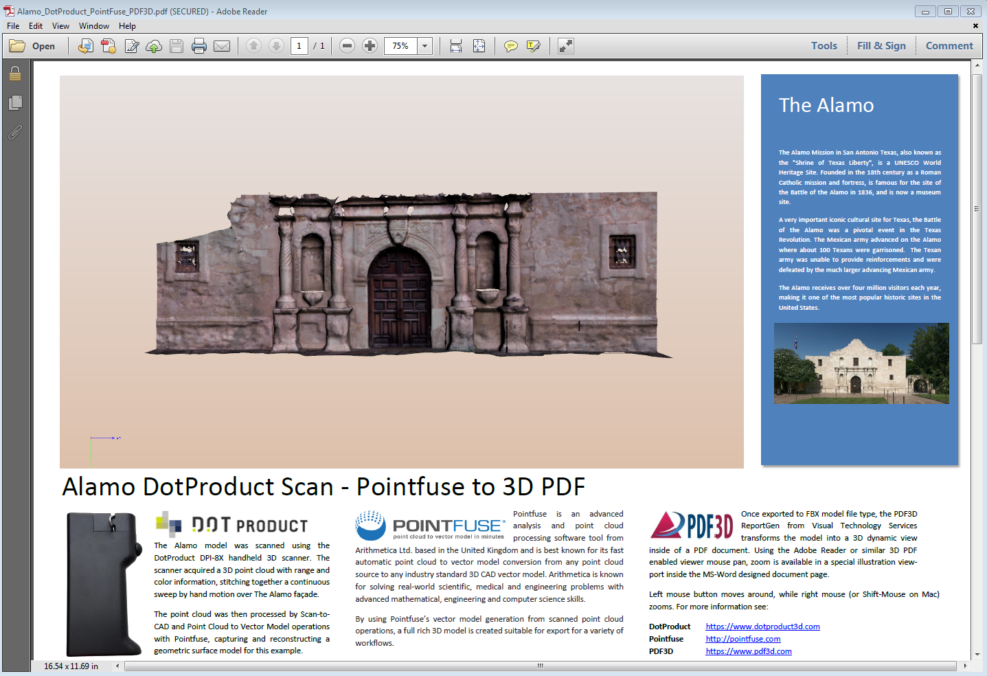 3D PDF Examples from All Industries | Created Using PDF3D ReportGen