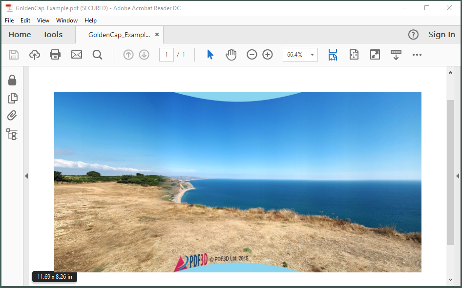 Photography | 360 Degree Panoramic Images in 3D PDF | PDF3D