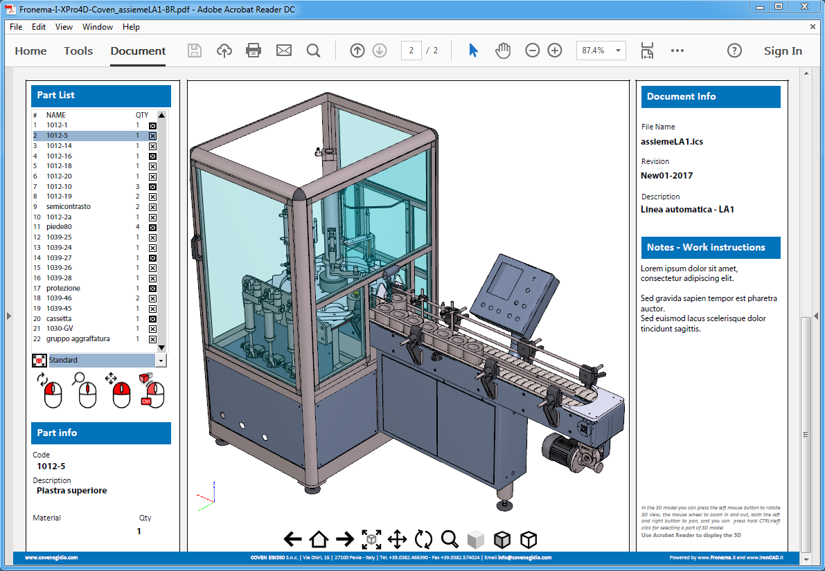 PDF3D SDK | 3D PDF Conversion Toolkit For Developers | PDF3D