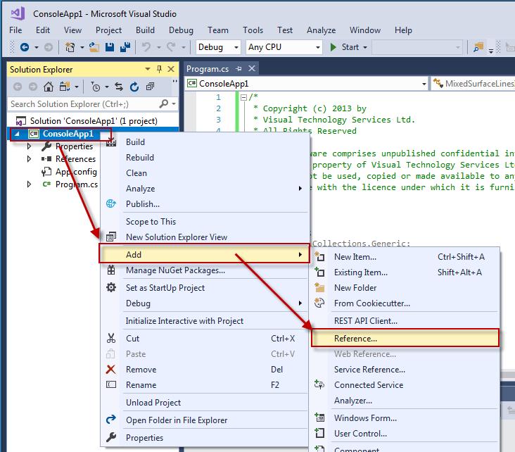 How to Build PDF3D-SDK C#  NET Examples with Visual Studio - PDF3D