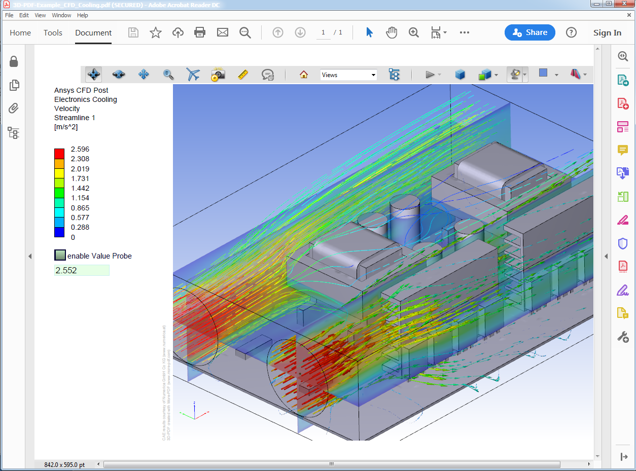 21D PDF Examples of Engineering Analysis, CAE, Simulation Results For Fea Report Template