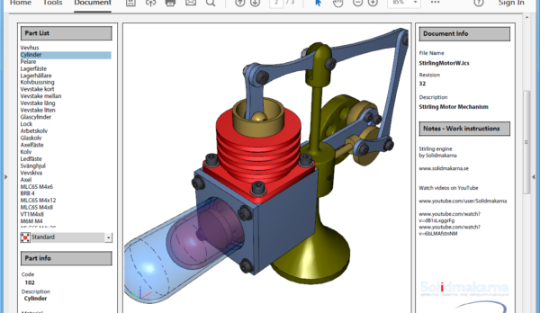 Fronema-I-XPro4D-StirlingMotorWN2-Screenshot