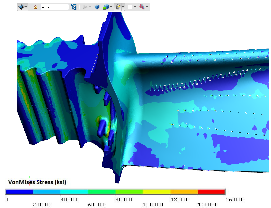 21D PDF Examples of Engineering Analysis, CAE, Simulation Results Throughout Fea Report Template