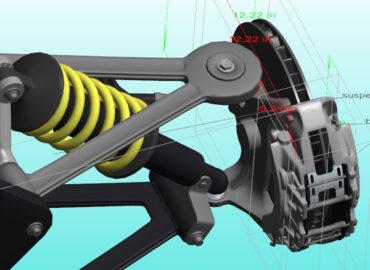 3D PDF with PMI Suspension